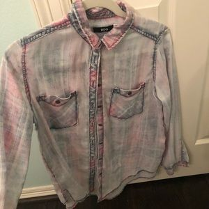 Urban outfitters BDG washed out flannel